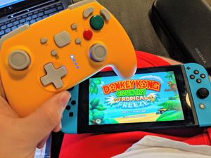 Yellow Nintendo switch controller for Sale in Tempe, AZ