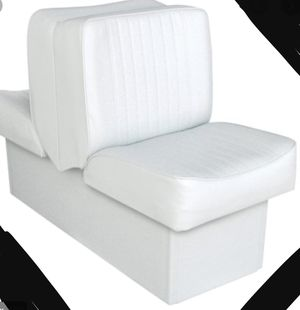New!! Lounge seat, back to back lounge seat, boat seat, white for Sale in Phoenix, AZ