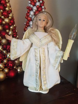 $15.00 - Christmas Animated & Lighted Angel, She is Gorgeous! - Priced at Minimum for Sale in Miami, FL