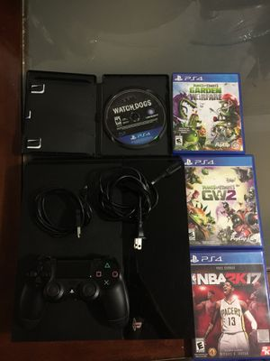 PS4 + 7 PS4 Games + Wireless Controller for Sale in San Francisco, CA