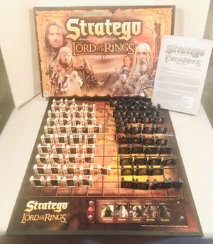 2004 STRATEGO The Lord of the Rings Trilogy Edition Strategy Board Game for Sale in Pawtucket, RI