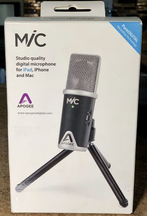 Apogee Mic [ LIKE NEW ] for Sale in Palmdale, CA
