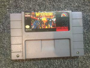 Super Nintendo SNES Wolverine for Sale in Atlanta, GA