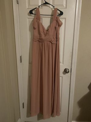 Mauve pink bridesmaid/maternity dress for Sale in Rochester, WA