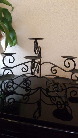 Gorgeous cast iron candelabra for Sale in Peoria, AZ