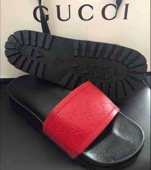Brand new gucci men slides size 8 9n10 11 for Sale in Hollywood, FL