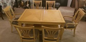 Dining set, leaf extension and coffee table for Sale in Gilbert, AZ