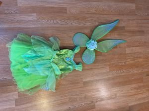 Tinker Bell Costume Disney Store Size 5-6 kids for Sale in Pico Rivera, CA
