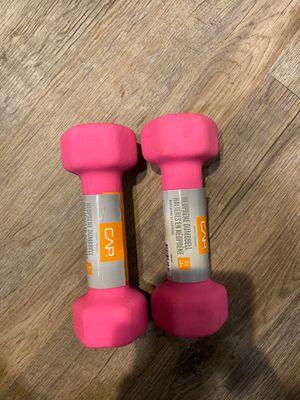 CAP neoprene 3lb dumbbell pair for Sale in Pittsburgh, PA