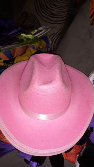 3 brand new pink cow girl costume hats for Sale in Houston, TX