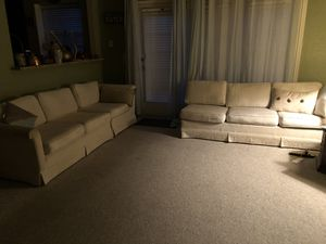 Off white sofa set for Sale in Lewisville, TX