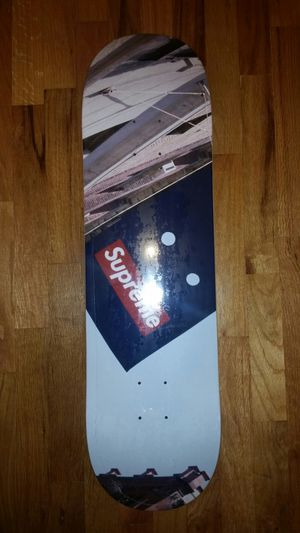 Supreme Banner Skateboard Deck for Sale in Clyde Hill, WA