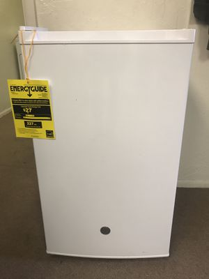 New GE Mini Fridge White Refrigerator for Sale in South Salt Lake, UT