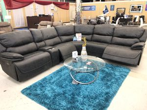 BRAND NEW SECTIONAL SOFA FABRIC POWER for Sale in Fort Worth, TX