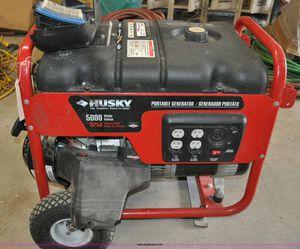 Husky 5000 watt generator for Sale in Seattle, WA