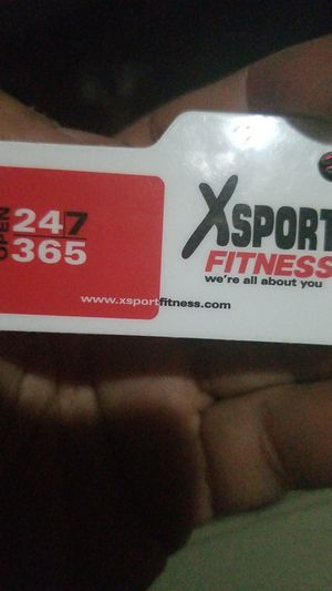 Xsport fitness memberships for 2 years. for Sale in Aurora, IL
