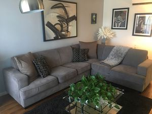 Grey Sectional for Sale in West Hollywood, CA