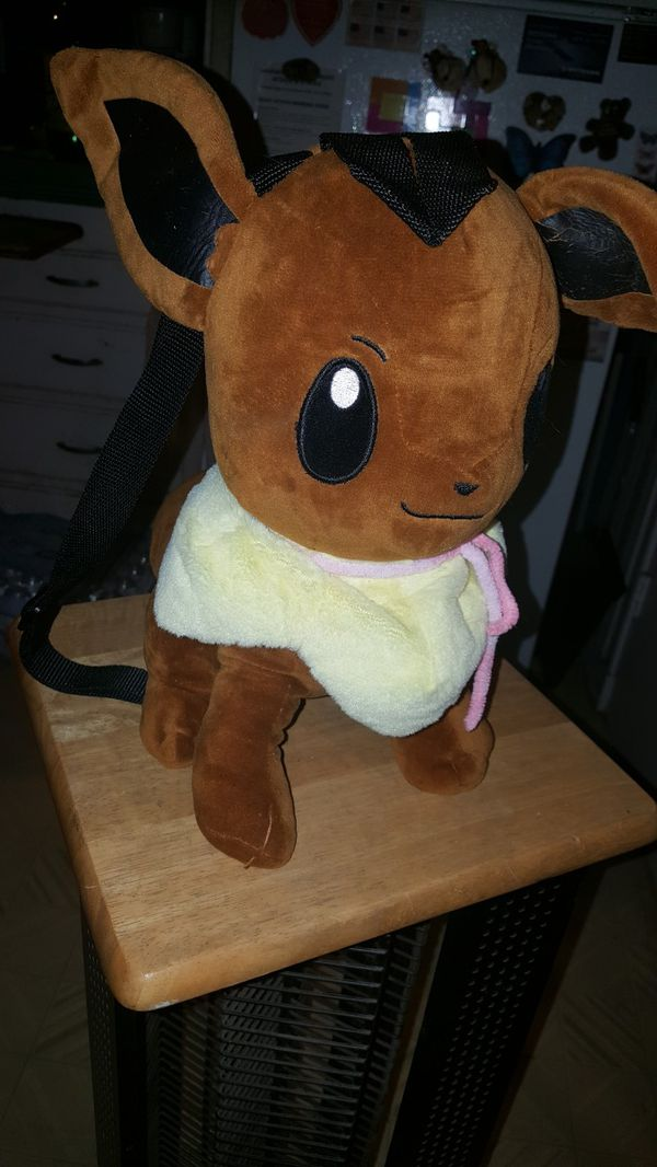 Eevee plushie backpack