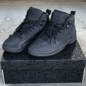 Jordan 12 Winter Black Size 9 for Sale in Hayward, CA