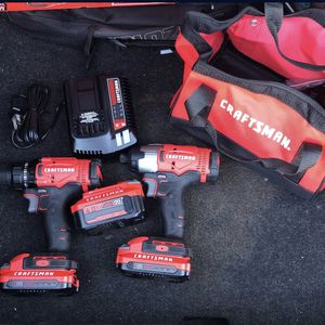 Craftsman Drill/Driver Combo Set for Sale in Glendale, AZ