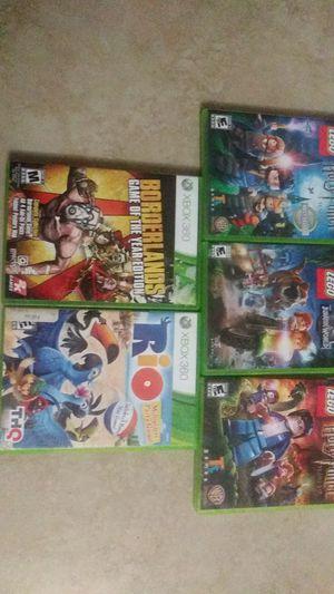 Xbox 360 lego,rio and more 5 games for Sale in Miami, FL