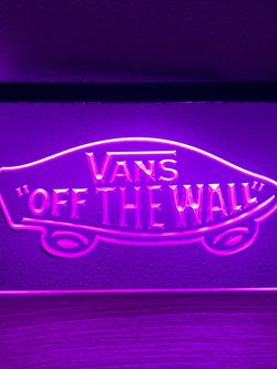 Vans Supreme Skateboarding LED Neon Display Sign - HUF Stussy The Hundreds undefeated for Sale in Santa Ana,  CA