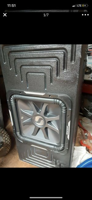 Kicker L7 15 4ohm subwoofer for Sale in Mint Hill, NC