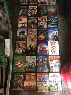 Lots of DVD movies in cases only three dollars each for Sale in Glen Burnie, MD