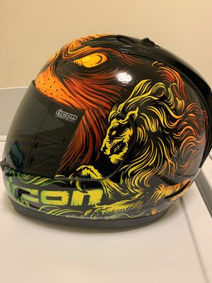 Icon motorcycle helmet for Sale in Dinuba, CA