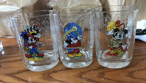 3 Collectible Disney glasses for Sale in Everett, WA