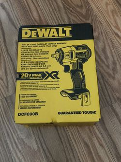 DeWalt 20-Volt MAX XR Cordless Brushless 3/8 in. Compact Impact Wrench (Tool-Only) for Sale in Happy Valley,  OR