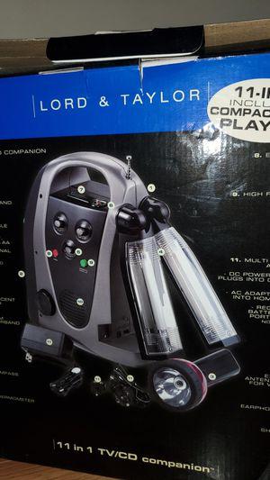 11-In-1 Emergency TV /CD lantern for Sale in Dulles, VA
