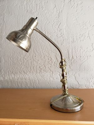 Stainless modern desk lamp for Sale in Fort Lauderdale, FL