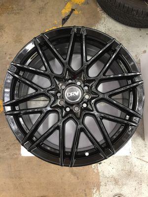 "Brand New 18"" Inch Diablo D17 18X8 All Gloss Black Wheels Rims Rines 5X105 5X4.1 5X114.3 5X4.5 for Sale in Austin, TX"