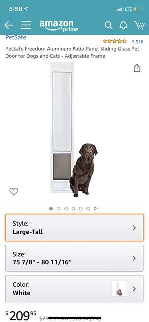 PetSafe Sliding door dog door for Sale in Lutz, FL
