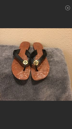 Size 8 Tory Burch Thora Sandals for Sale in Raleigh, NC