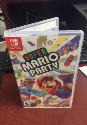 Mario party switch for Sale in San Antonio, TX