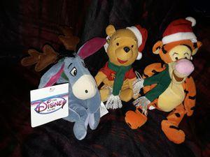Disney Christmas Pooh beanie baby bean bag plush for Sale in Chino, CA