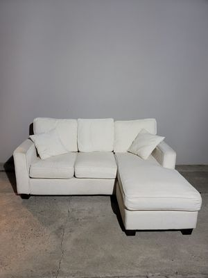 White Sectional Couch for Sale in North Highlands, CA
