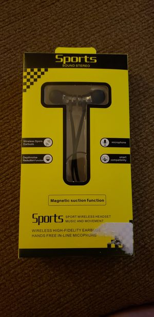 Sport wireless earbuds for Sale in Lubbock, TX