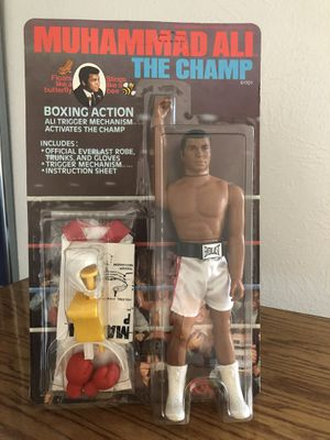 Vintage 1970's Muhammad Ali 9 inch Action Figure for Sale in Dallas, TX