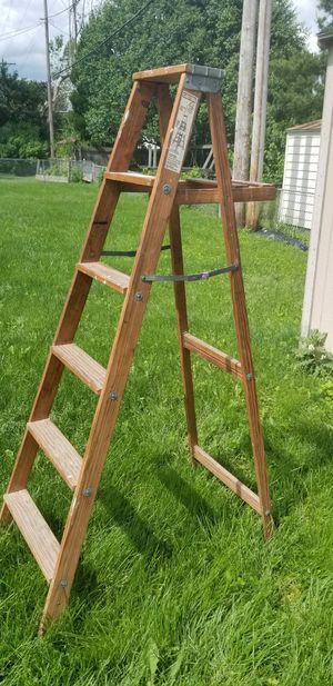 Wooden paint ladder for Sale in Columbus, OH