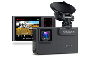 Kingslim D1 Pro Dual Dash Cam with Wi-Fi GPS, {link removed} Front and Cabin Dash Camera for Cars, Dual Sony Sensor with 340° FOV, Super Night Vision for Sale in Rancho Cucamonga, CA
