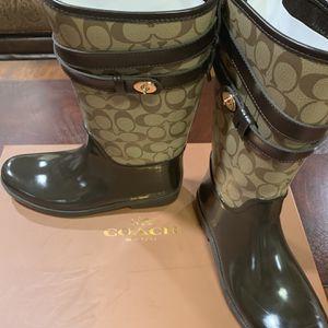 Coach Rain Boots for Sale in Oklahoma City, OK