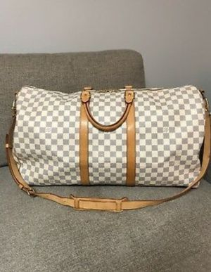 LOUIS VUITTON Keepall Bandouliere 55 Duffle Travel Bag for Sale in Northfield, IL