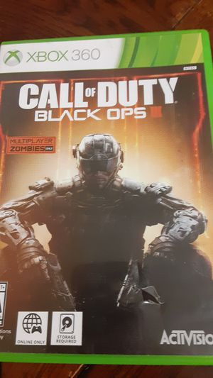 Xbox360 Call of duty Black ops lll for Sale in Grand Saline, TX