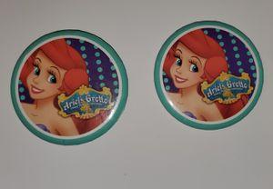 Vintage Ariel's Grotto Button Pin Disney California Adventure Disneyland Mermaid for Sale in Auburn, WA