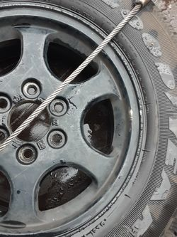 22575R18 Rim And Tire for Sale in Los Angeles,  CA