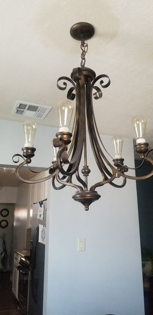 Bronze chandelier for Sale in San Bernardino, CA