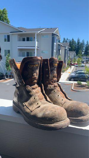 Heavy duty waterproof work boots steel toe size 10.5 for Sale in Vancouver, WA